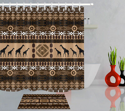 72x72/'/' High heels Fabric Waterproof Bathroom Shower Curtain /& 12 Hooks 8251