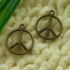 Free Ship 68 pieces bronze plated cross pendant 48x31mm #1132
