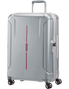 NEW-Technum-Hardside-Spinner-Case-Medium-Aluminium-68cm-3-9kg