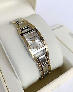 Anne Klein Watch * 6419SVTT Classic 2 Tone Gold & Silver Steel Women COD PayPal