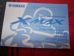 4g Manuel/notice Proprietaire/utilisateur/entretien Yamaha Yp125r Yp 125 R Ra Nebn4v0e-08010748-563195078