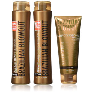 Brazilian Blowout Aftercare Kit Shampoo Conditioner Masque 689989911608 Ebay