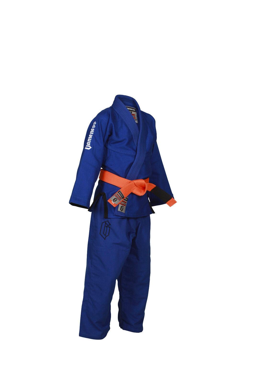 Gameness Luft Kinder Bjj Gi Blau G1302 Kimono Uniform Brasilianisches Jiu-Jitsu