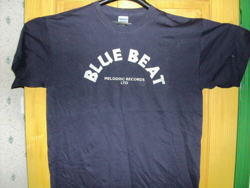 Bluebeat record label T Shirt size 2XL
