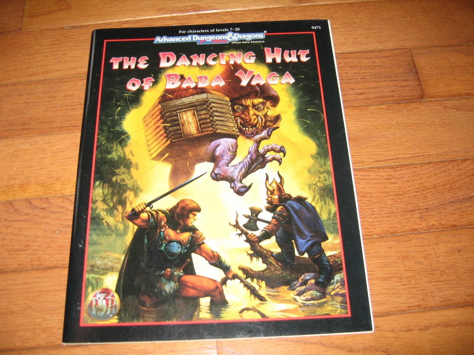 AD&D D&D cabaña de Baba Yaga el baile
