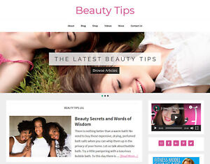 Stunning-BEAUTY-TIPS-blog-niche-website-business-for-sale-AUTO-UPDATING
