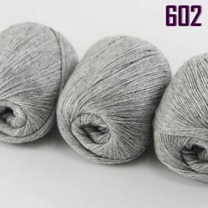 NEW Sale Luxurious Soft 50gr Mongolian Pure Cashmere Hand Knitting Wool Yarn