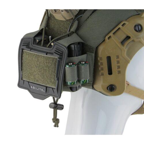 MTEK FLUX HELMET COVER GEN 4 Tactical Army Size L//XL