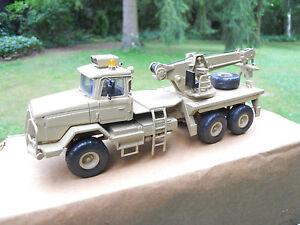 Vehicule Militaire Smith Auto Models Sable Mib, camion de récupération Scammel S 24
