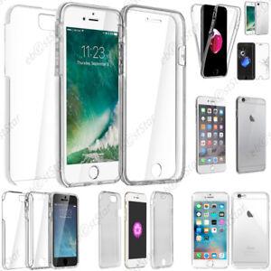 Dettagli su Cover Integrale Anteriore e Posteriore Apple iPhone iPhone X 8 8 Plus 7 6 6S
