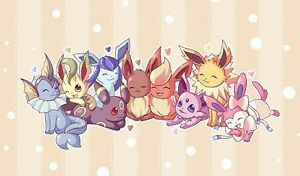 Image Is Loading Pokemon GO Eevee Evolutions GENERATIONS Custom Playmat 27