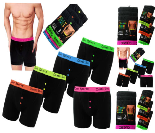 6 Or 12 Pack Mens Boxers Shorts Designer Classics Comfort Fit Underwear Briefs