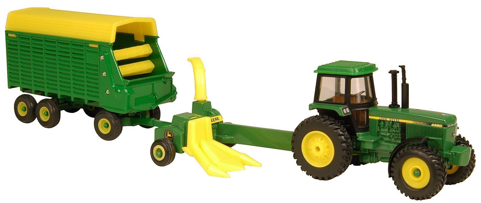 mejor marca 1 64 Ertl John Deere 4650 forraje Harvester Harvester Harvester Set  liquidación hasta el 70%