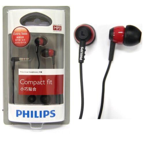 Philips SHE7000BR In-Ear Headphones SHE7000 Black/Red GENUINE
