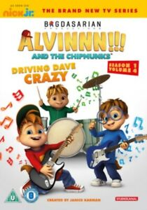 Neuf-Alvin-And-The-Chipmunks-Conduite-Dave-Crazy-DVD