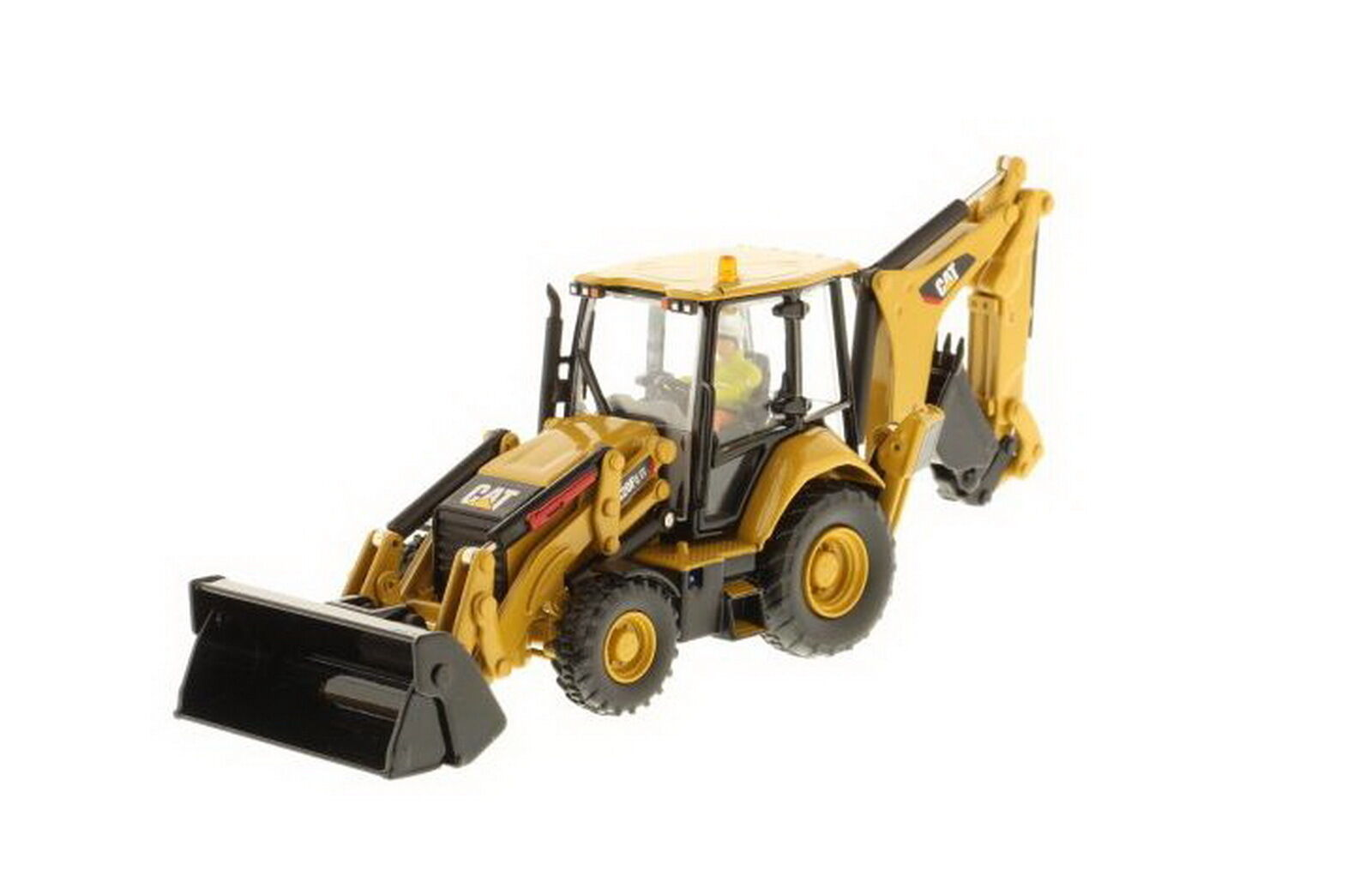 1 50 DM CATERPILLAR CAT 420F2 chargeuse-pelleteuse tracteur diecast model  85233