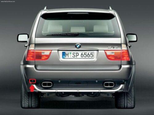 Bmw genuine X5 E53 00-06 arrière pdc parking capteur extérieur gauche n//s housse support
