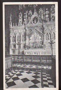 NEW-YORK-CITY-NY-Trinity-church-Altar-Vintage-Postcard