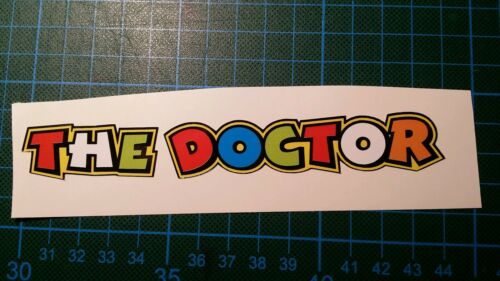 Pegatina Adhesivo Sticker THE DOCTOR VR  14 CMS Sticker Aufkleber Autocollant