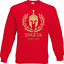 Pullover Sparta Fight Gym i Fun i proverbi i divertente i Felpa