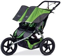 Bob Sport Utility Duallie Twin Baby Jogger Double Jogging Stroller 2016 Meadow