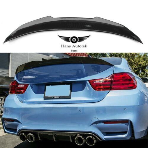 BMW M4 F82 Coupe Carbon Fiber Rear trunk boot lip Spoiler PSM STYLE 2014up