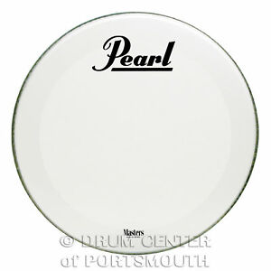 Pearl-Powerstroke-3-Bass-Drum-Logo-Head-Coated-22-034