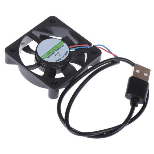 1Pc 5V USB Connector 50x50x10mm PC Computer Cooling Cooler Fan Heatsink Fan