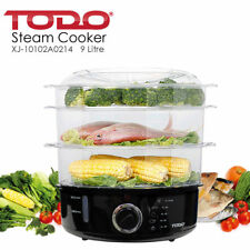 9L Steam Cooker - 3 Tray, 800W