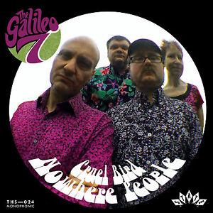 THE-GALILEO-7-Cruel-Bird-black-vinyl-7-034-NEW-Prisoners-Solarflares-Embrooks-psych