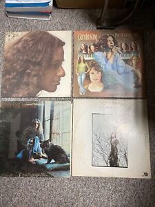 Lot-of-4-CAROLE-KING-LP-records-Tapestry-Rhymes-Greatest-Hits-Writer-VG