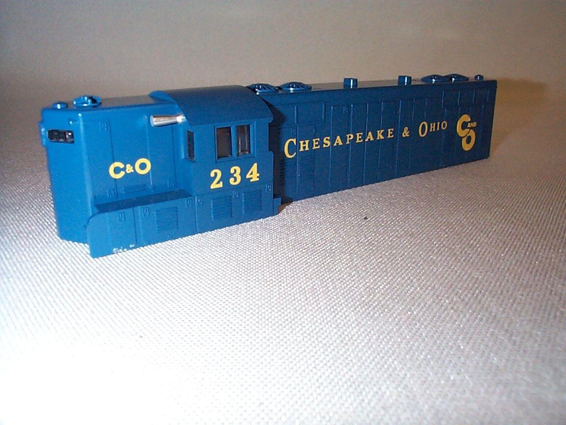 American Flyer C&O USM 21234 234 defender GP7 Shell  se ajusta de posguerra Chasis  nos