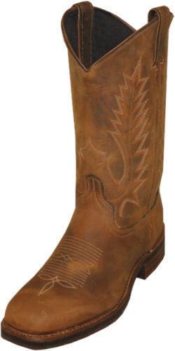 Men's Abilene Pioneer Cowhide Cowboy Boots USA 6723 New In Box