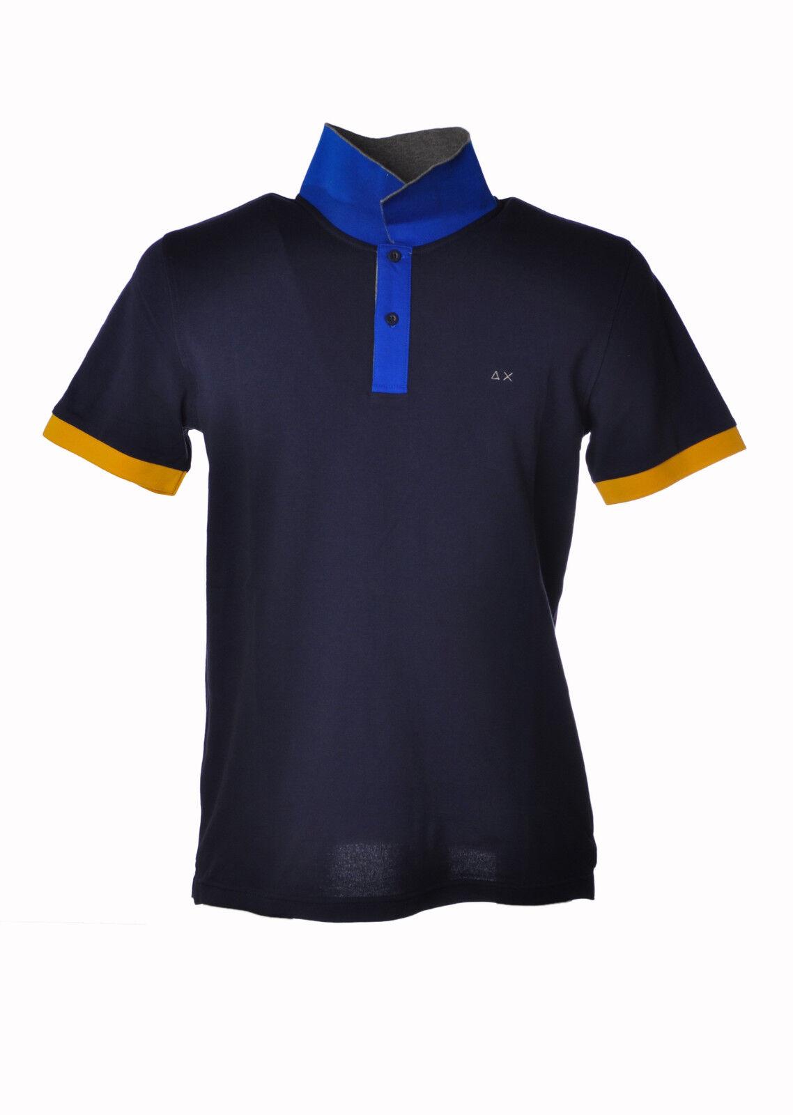 Sun  68 - Topwear Polo - Mann - azul - 3199812H190705  sorteos de estadio