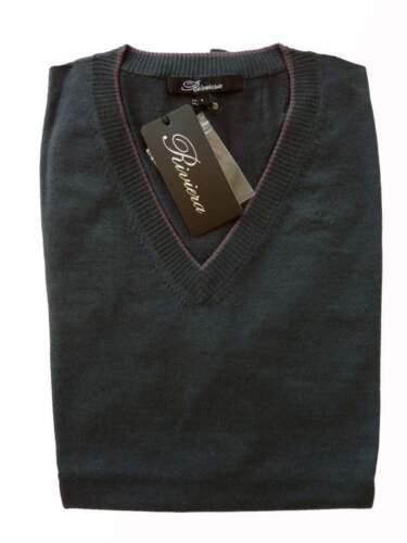 Suéter Riviera puro ribete Verde large x chaleco oscuro malva con helecho Large Sale rrdwqzS7