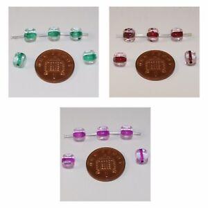 """20 Vert/rouge/violet Cube En Verre Perles; Taille 6.5 Mm X 6 Mm-le Glass Cube Beads; Size 6.5mm X 6mm"""" Data-mtsrclang=""""fr-fr"""" Href=""""#"""" Onclick=""""return False;"""">afficher Le Titre D'origine 2vymk2xz-10035150-401977786"""