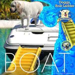 Paws Aboard Pawz Dog Boat Ladder Steps Floating 64 X 16