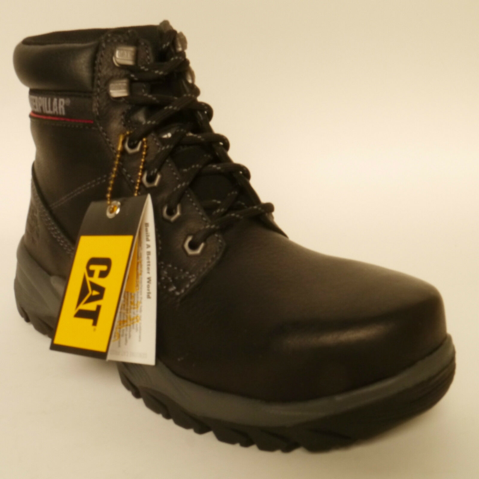 Caterpillar CAT Dryverse Seguridad Negro De Mujer botas De Trabajo Puntera De Acero Impermeable