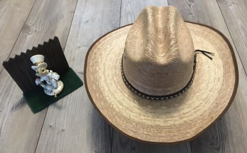 Men's Resistol Genuine Mexican Palm Leaf Cowboy St