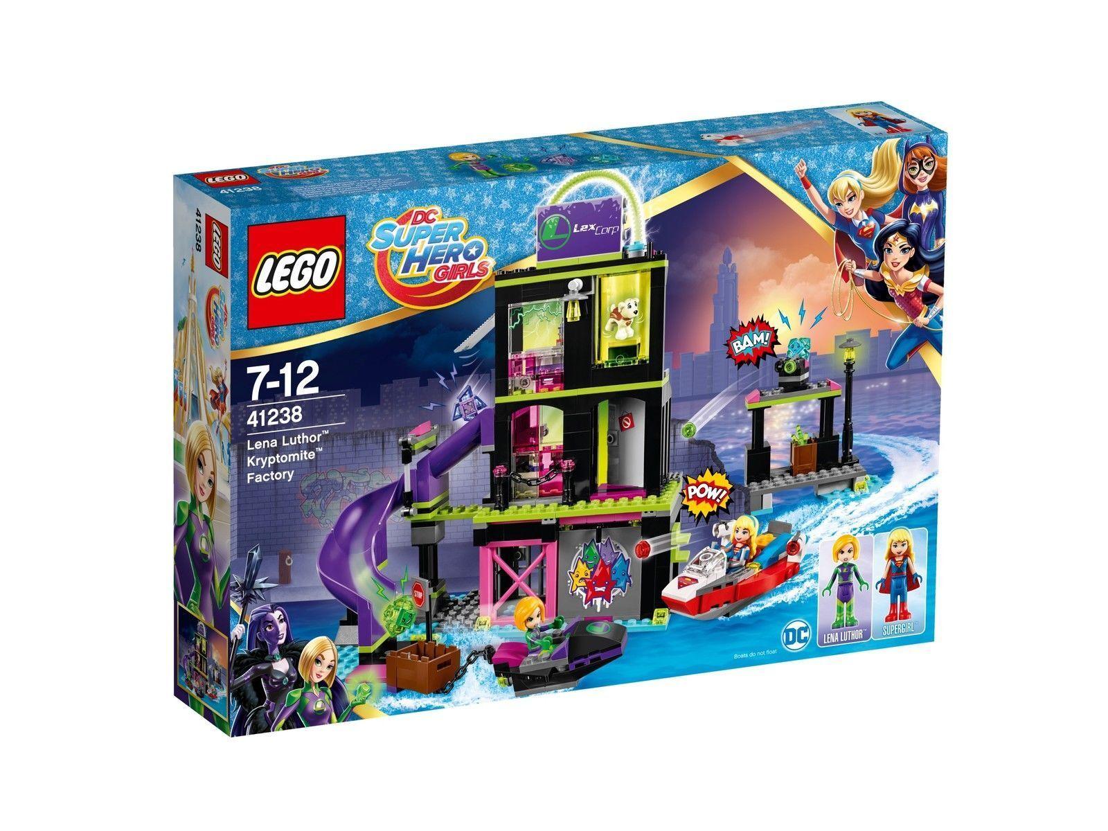 LEGO DC Super Hero Girls 41238-Les kryptomite-Usine de de de Lena Luthor NOUVEAU & NEUF dans sa boîte | Facile à Nettoyer Surface  c2d387