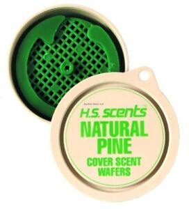 NEW-Hunter-039-s-Specialties-Natural-Pine-Cover-Scent-Wafers-3-Pack-01024