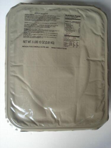 Notration Ready to eat US Army MRE EPA Apple Dessert,18 Portionen Verpflegung