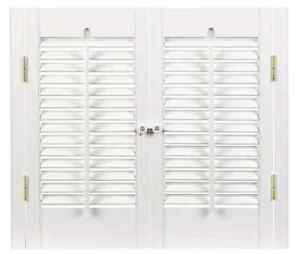 Basswood diy traditional 1 1 4 interior shutter kits 23 w ebay - Plantation shutters kits ...