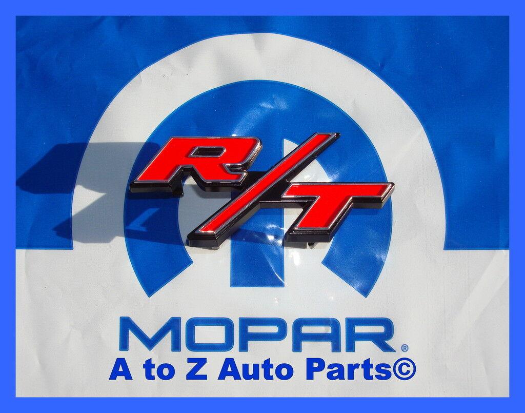 NEW 2009-2014 Dodge Challenger RT GRILLE /& SPOILER Emblem OEM Nameplate