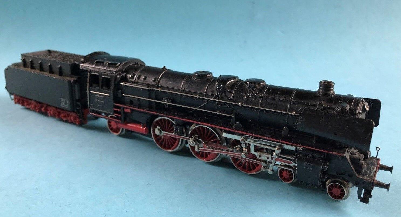 Märklin Dampflokomotive Dampflok Tender Spur 00 H0 Modell Eisenbahn 1955