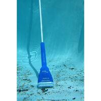 Blue Portable Pool Blaster 6-in Handheld Pool Vacuum Cleaning Equipment