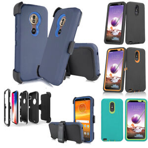 cheap for discount d55be 3b47a Details about For Motorola Moto E5 Supra G7 Plus Z4 Play G7 Play Case Belt  Clip Fit Otterbox