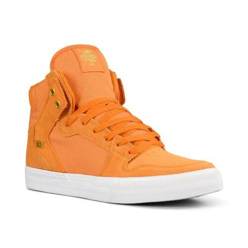Desert Supra Vaider High Top Shoes Gold White