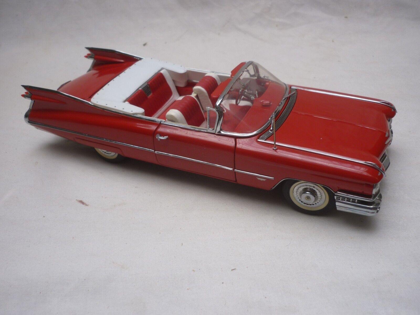 A Danbury mint scale model car of a 1959  Cadillac series 62, no box