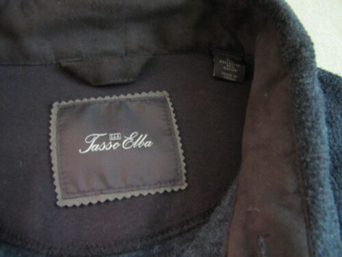 Macys Nwt Grey Jacket scuro Heavy Mens Heather Elba grigio New Tasso Giacca Large gB677q